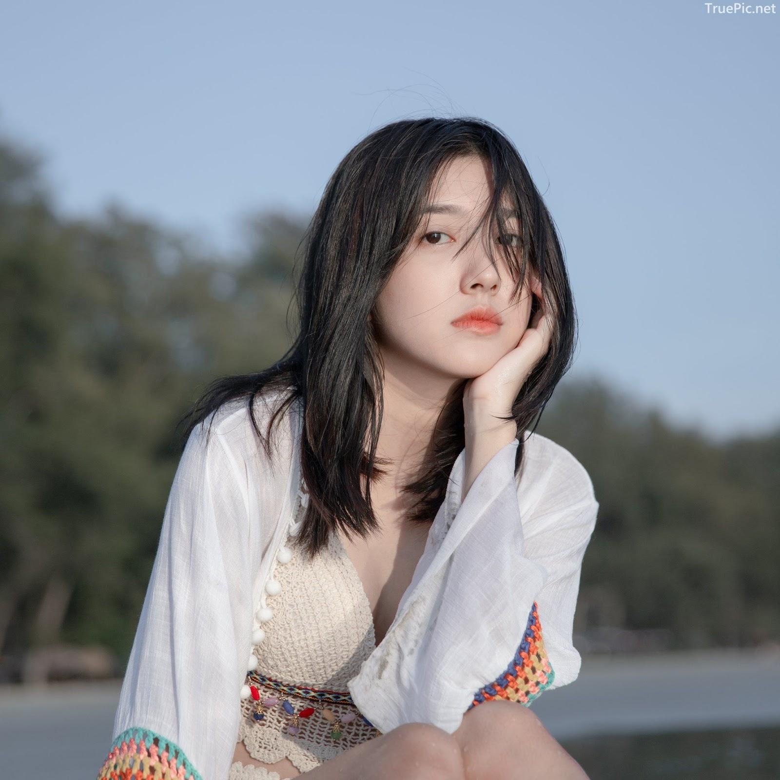 Thailand hot girl Purewarin Kosiriwalanon - Pure beauty and lovely with wool bikini - Picture 8