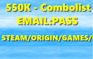 550K - Combolist - EMAIL:PASS - STEAM/ORIGIN/GAMES/UPLAY