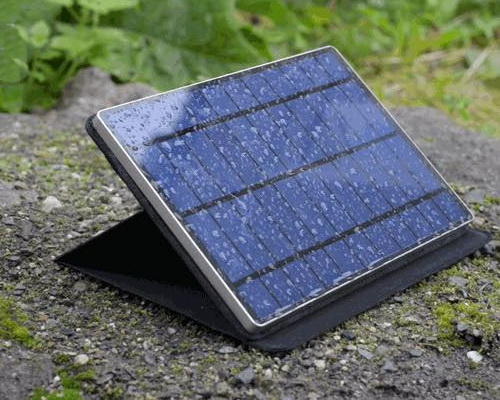Tinuku.com Solartab C, solar-powered charging device is thinner and lighter using USB-C connection and waterproof