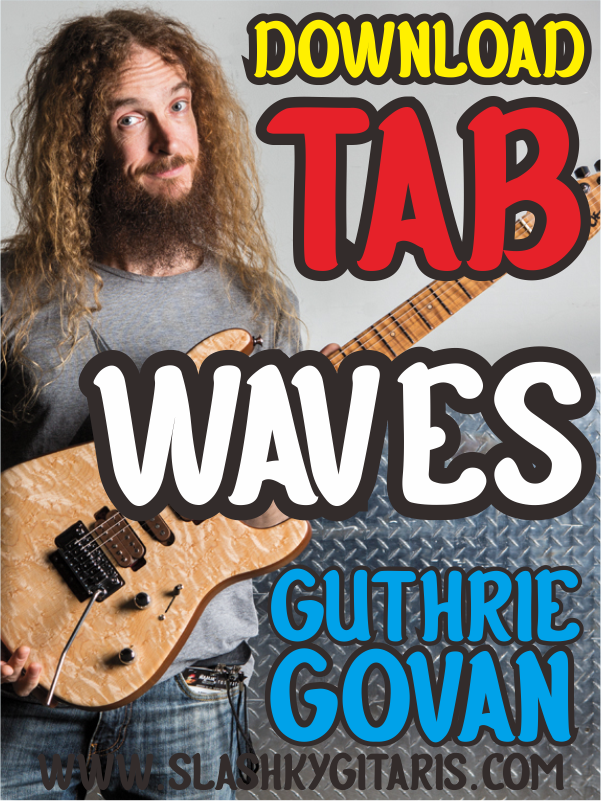 download tab, Guthrie Govan, www.slashkygitaris.com, Slashky Gitaris