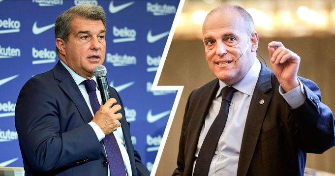 Laporta reply Tebas: 'He has a sick obsession with wanting to hurt Barca'