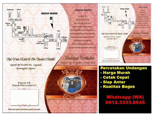 tempat cetak undangan madiun