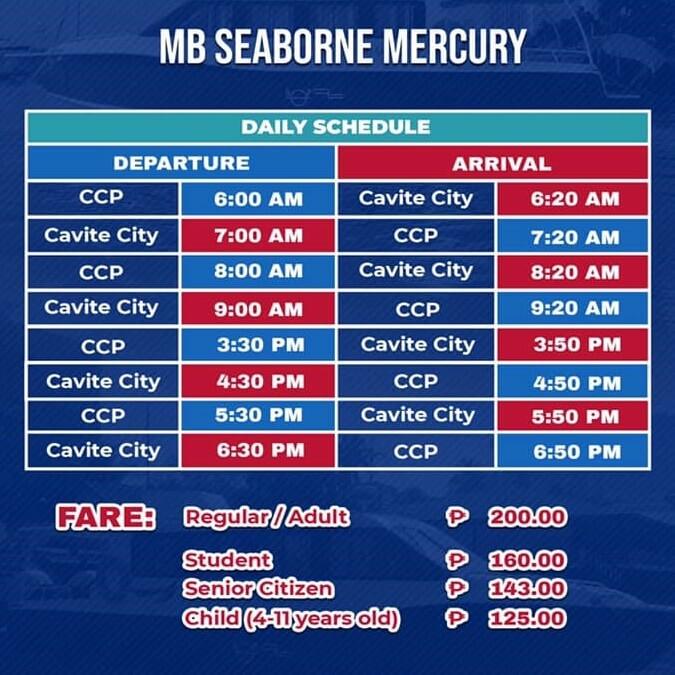 MB Seaborne Mercury