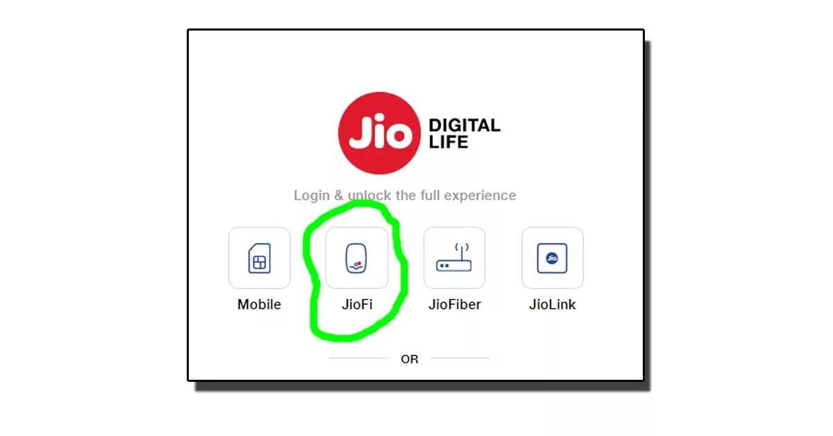 JioFi का डाटा कैसे Check करें