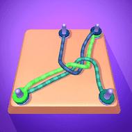 Go Knots 3D Mod Unlimited Coins Cara Cepat Naik Levels Tertinggi