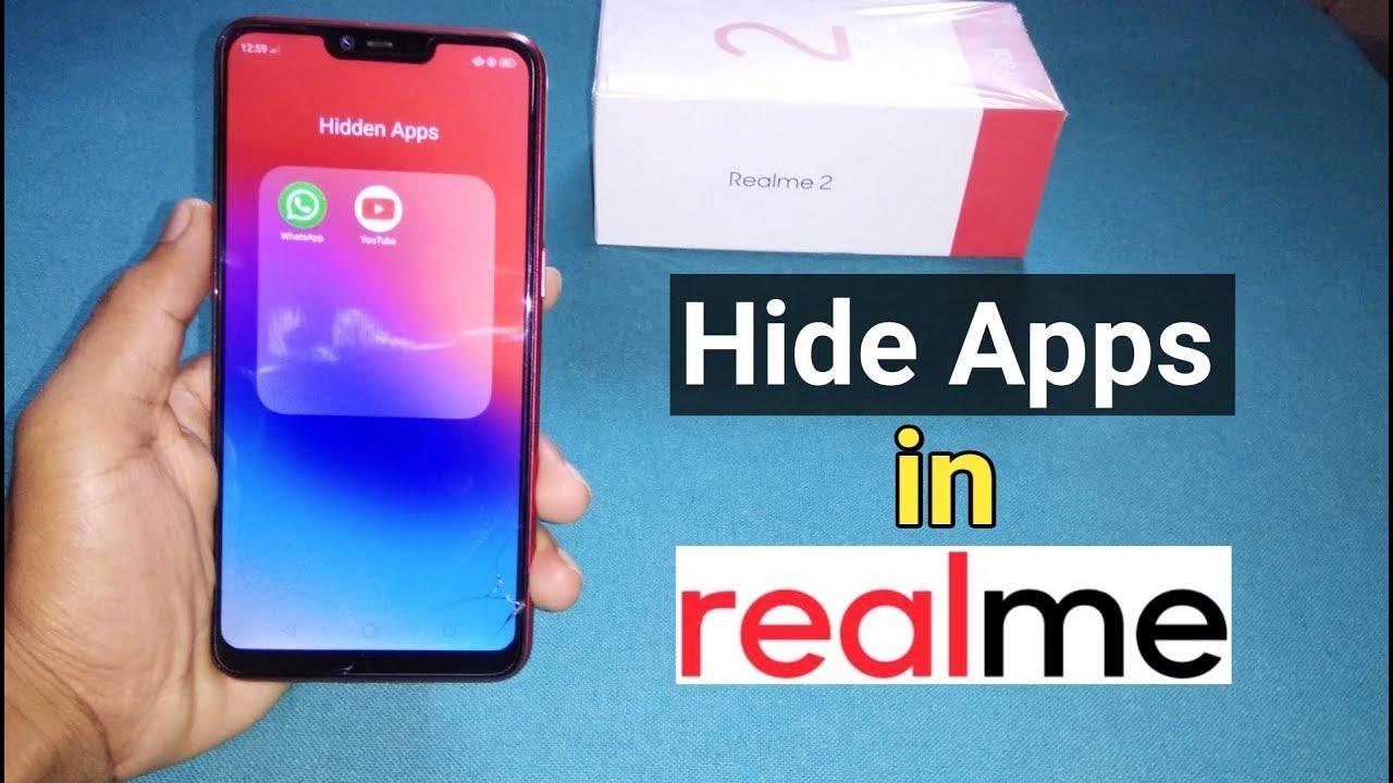 كيفية إخفاء التطبيقات على هواتف ريلمي بدون برامج