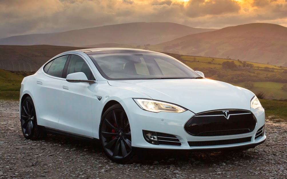 Tesla Launch Awd 70 Kwh Model S70d Electric Vehicle News