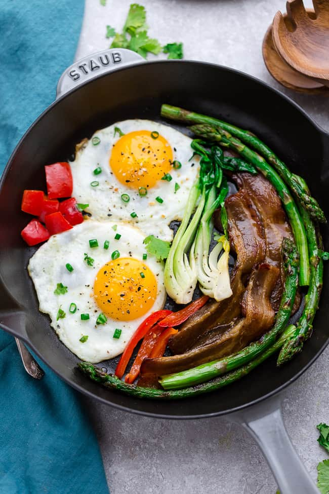 Low Carb Bacon and Eggs