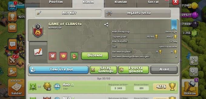 Klanımıza davetlisiniz! (Clash of clans #2)