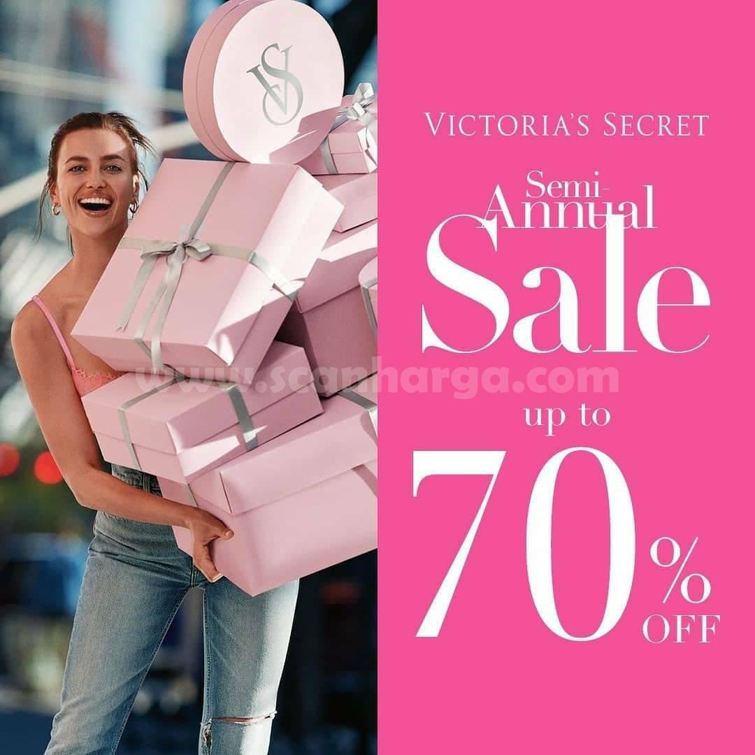 Promo Victoria's Secret Semi Annual Sale Up To 70% Off