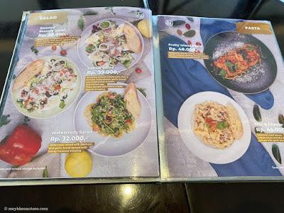 berbagai menu dan harga makanan restoran tanah air bumi kayom salatiga