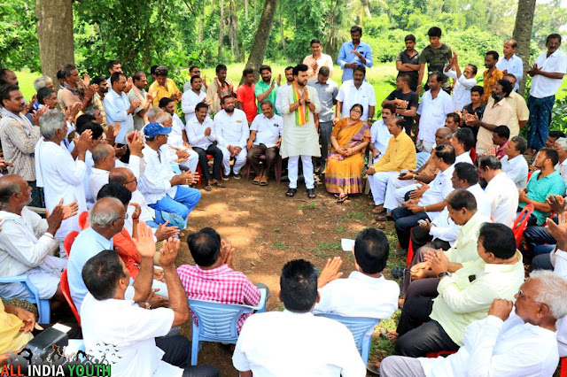 Ram Mohan Naidu Meeting with people