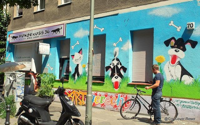 Berlin - väggmålningar