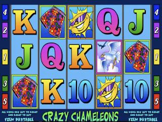 Crazy Chameleons Poker Slot