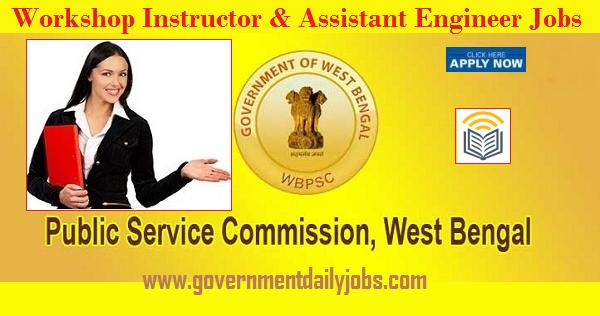 WBPSC Workshop Instructor/Engineer Recruitment 2020