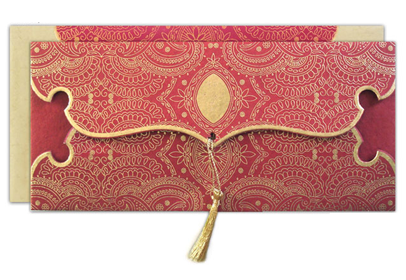 Hindu Wedding Invitation Card: By Serene: Wedding Invitations