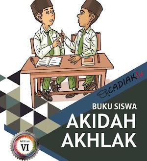 Buku Akidah Akhlak Kelas 6 Mi Kurikulum 2013 Revisi 2019