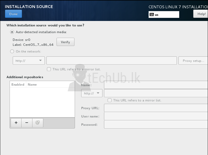 How to Install CentOS 7 With Custom Partition Scheme - tEchUb lk