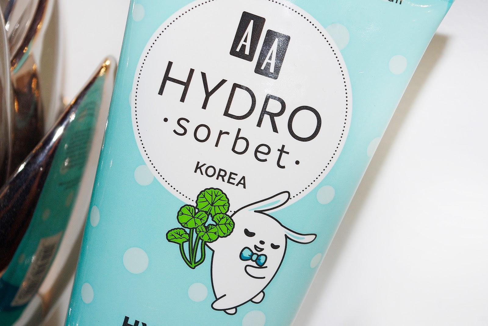 AA Hydro Sorbet Korea Hydro Balsam Chok Chok