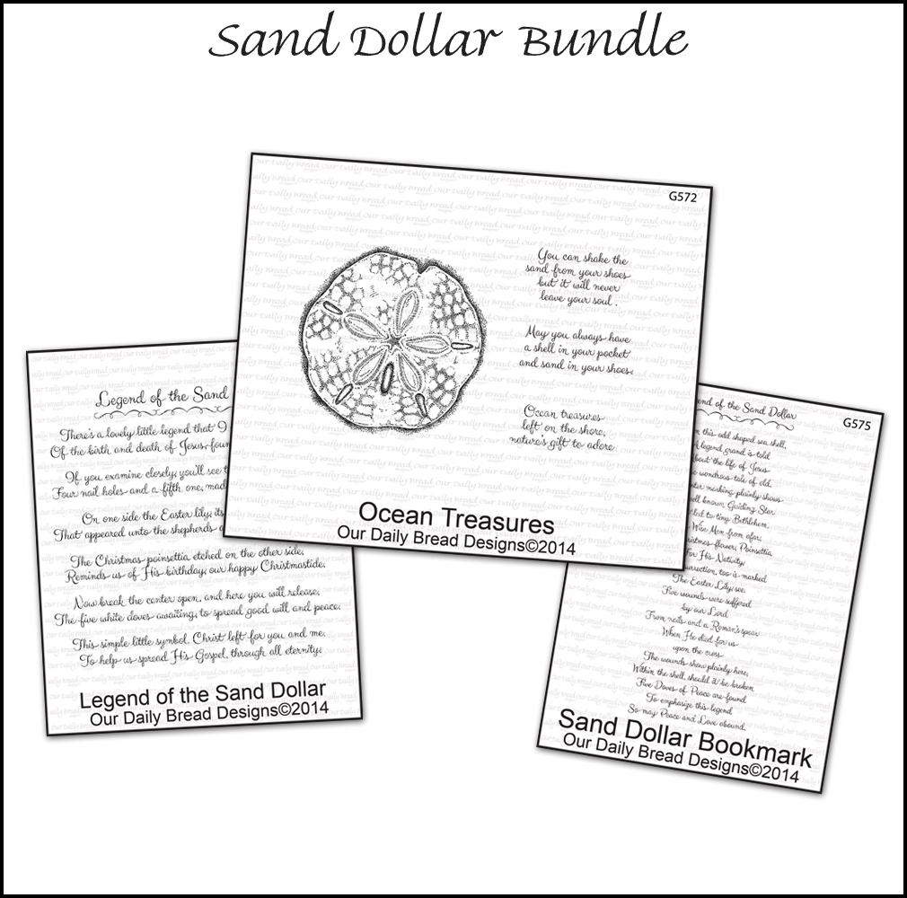 Stamps - Our Daily Bread Designs Sand Dollar Bundle