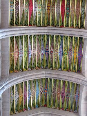 Bóveda de la catedral de la Almudena