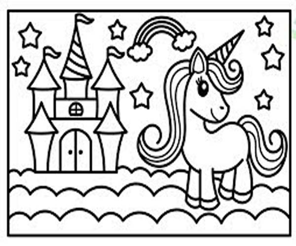 Gambar Kuda Poni Untuk Mewarnai Mari Mewarnai Gambar