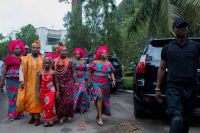 Adorable Photos Of Lucky Igbinedion  Daughter's Traditional Marriage