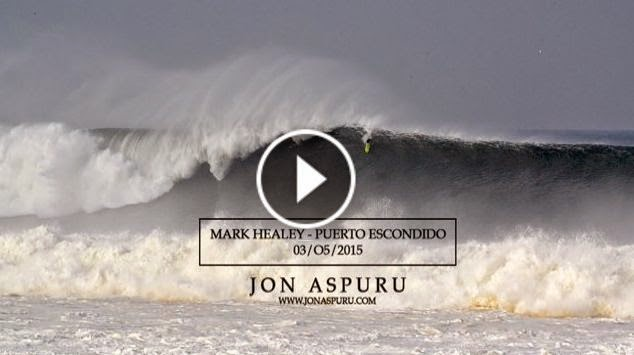 Mark Healey - Puerto Escondido 2015