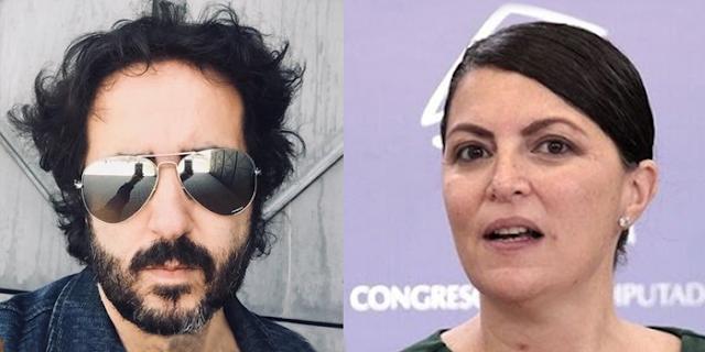Antonio Mautor y Macarena Olona