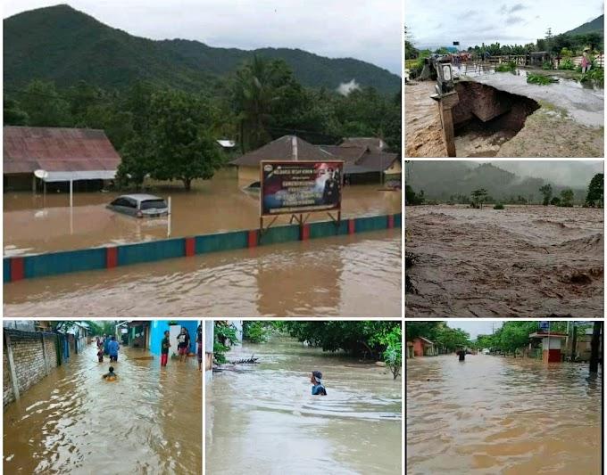 Dua Kabupaten di NTB Serentak Diterjang Banjir