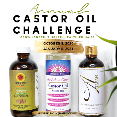 Castor Oil Challenge: Shedding, Itchy Scalp, Weighed Down Hair! Frequently Asked Questions - Answered! | www.HairliciousInc.com