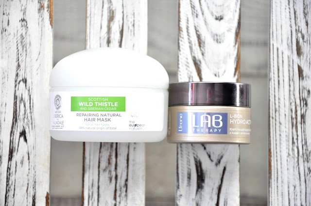 maska do włosów natura siberica&alladale - scotish wild thistle repairing natural hair mask, lirene krem nawadniająco-odżywczy z kwasem laktobionowym 15% na noc