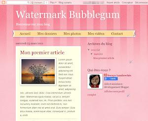 Watermark Bubblegum Theme