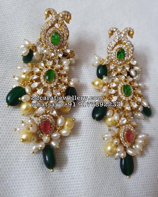 Diamond Look Silver Moissanite Necklace