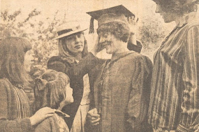 Picture of woman graduating in 1966