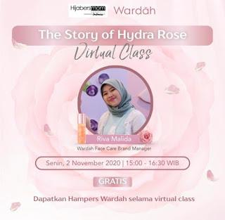 Virtual Class Wardah Hydra Rose