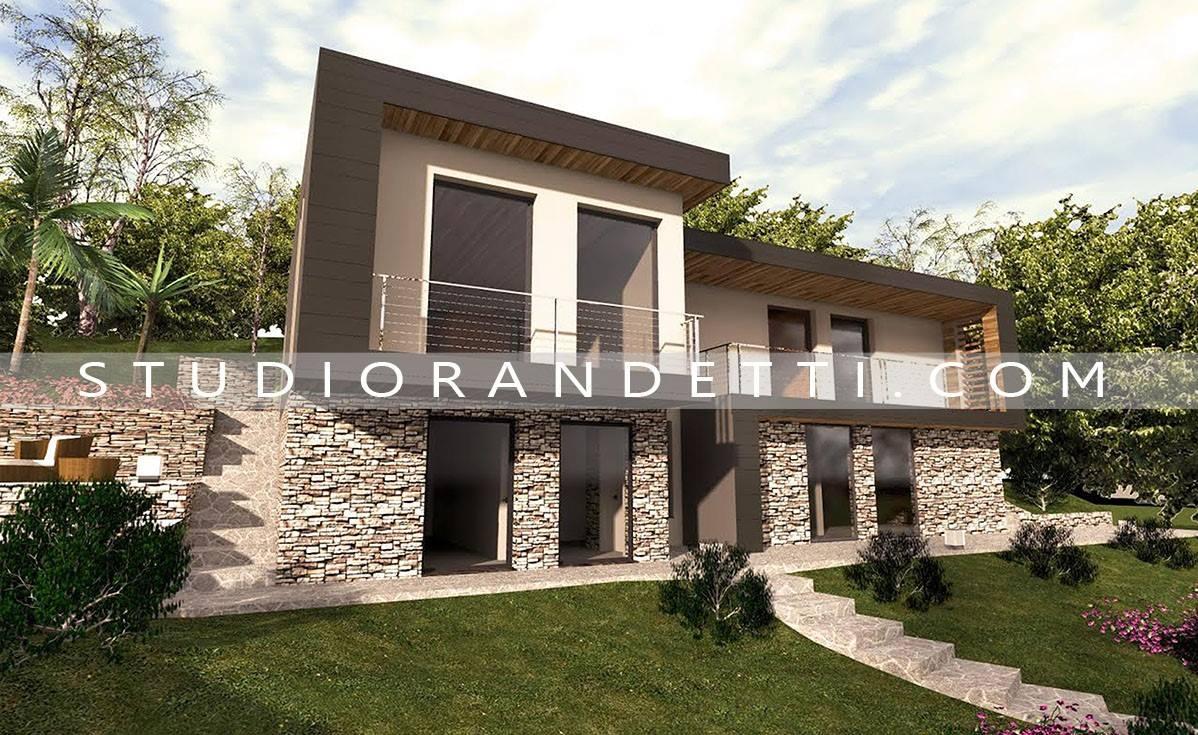 Villette moderne progetti good case moderne in legno with for Progetti villette moderne