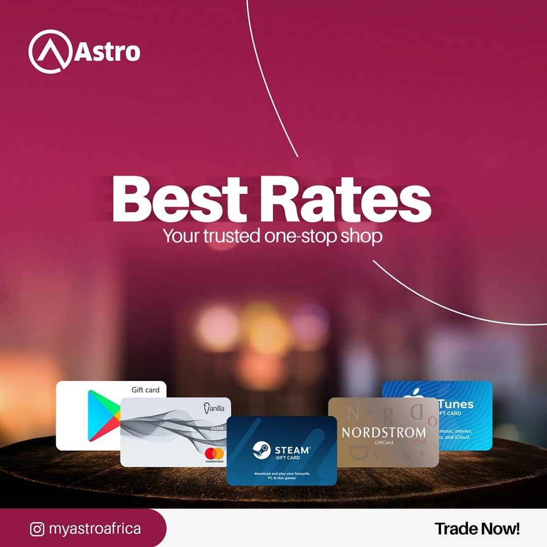 The best app to sell gift card for Cash in Ghana Cedis