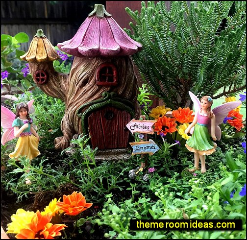 Fairy Garden House Accessories Kit – Miniature Fairy Figurines  Fairy Garden