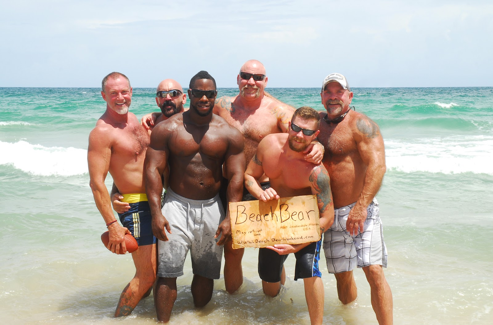 These Guys Want To Show You A Good Time Beach Bear Weekend Coming Fort Lauderdale