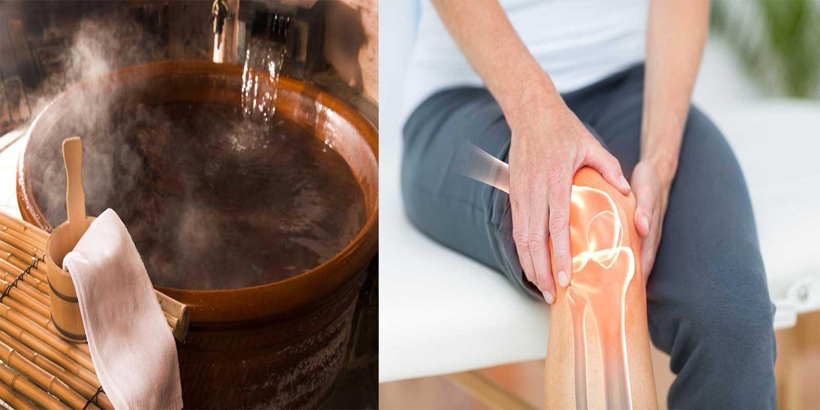 L'eau chaude est le remède maison contre la polyarthrite rhumatoïde que vous devriez utiliser