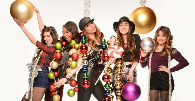 Fifth Harmony Christmas.English Is Funtastic Christmas Song All I Want For