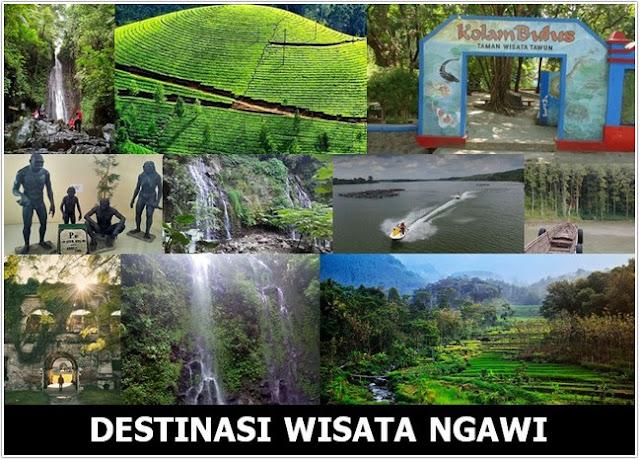 10 Top Destinasi Wisata Ngawi