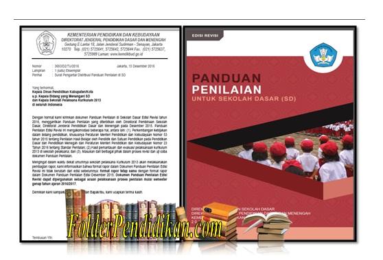 Panduan Penilaian SD edisi 2016 sesuai Permendikbud 23 tahun 2016