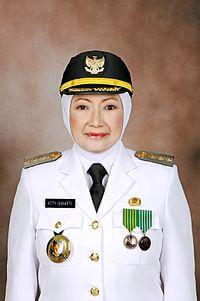 Atty Suharti Tochija Walikota Cimahi 2012 - 2017 dicipok KPK