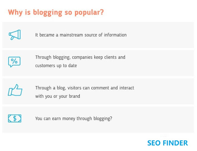 Why is blogging so popular?