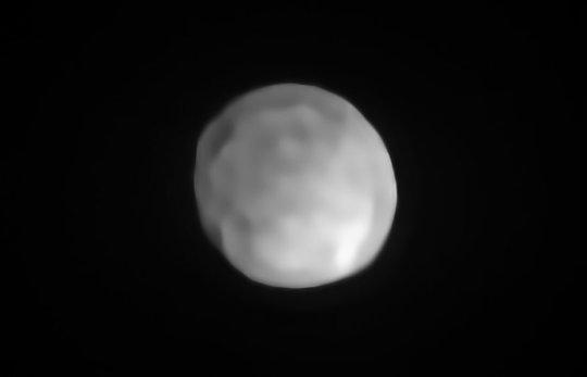 Astrónomos revelan que el asteroide Hygiea podría clasificarse como un planeta enano