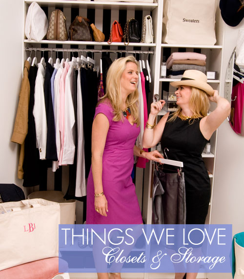 Organize Your Clothes 10 Creative And Effective Ways To Store And Hang Your Clothes: The Laundress Blog: Things We Love : Closets & Storage