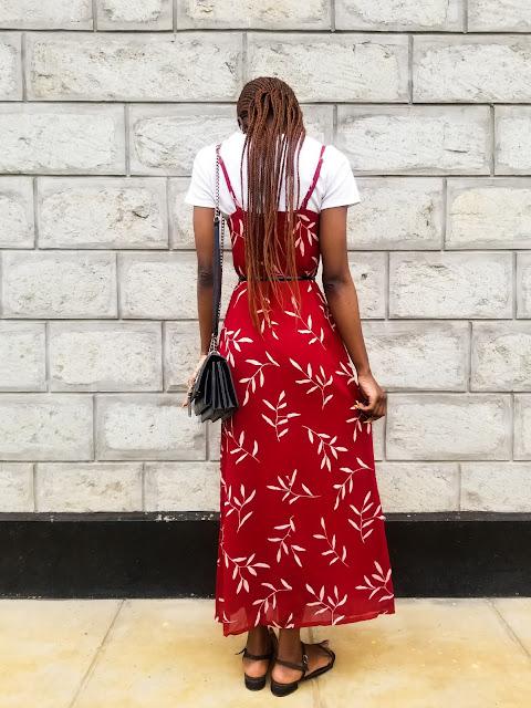 How To Wear A T-shirt Under A Spaghetti Strap Dress