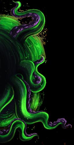 Quantar - potwór z Lovecrafta ze zbioru o Hubim i Wikarym
